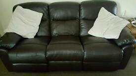 3 & 2 seater manual recliners