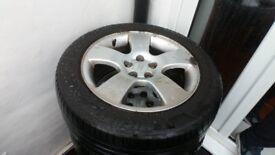 Audi alloys X4 with mint tyres