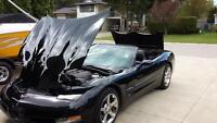 2004 Black Corvette - Convertible