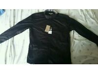 Burberry Brit Men's Shirt Black Xxl New With Tags