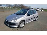 Peugeot 206 diesel manual with new MOT in good running order part exchange clearance