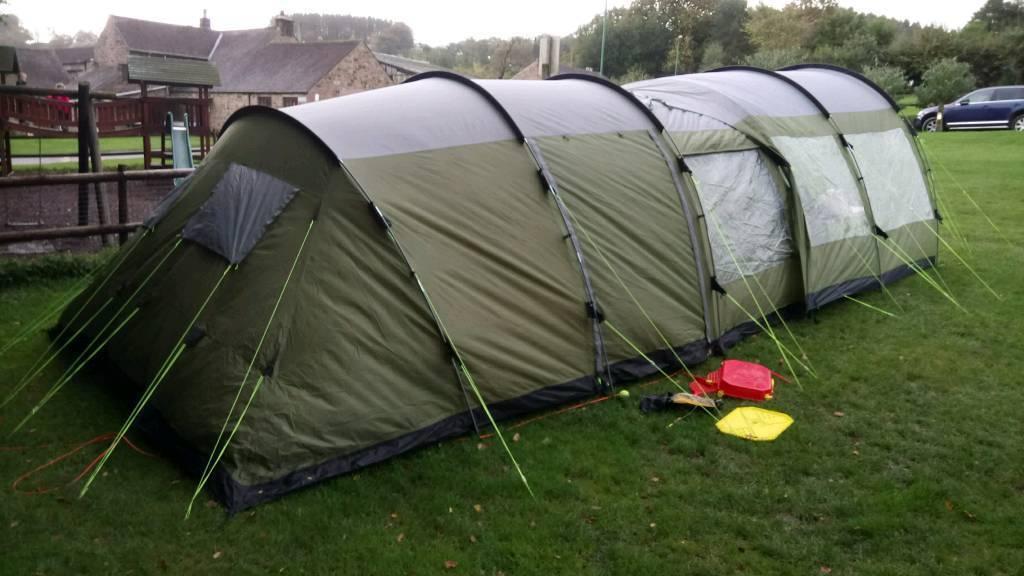 Palm coast 6. 6 man tent bundle camping