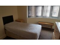 BIG DOUBLE ROOM £320PM ALL INC, £100 DEPOSIT, OFF CATHERINE ROAD LE4 6GX, SUIT WORKING TENANTS