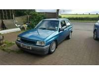 Vauxhall Nova 1.2 luxe + Track car etc please read add
