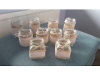 Decorative wedding jars