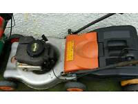 Flymo 18 inch power drive lawnmower £65