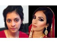 Asian Bridal Make Up Trial £25, Limited time. See Before & After Photos. Asian Bridal Makeup Artist.