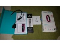 Fitbit alta HR and additional silver wrist band