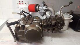 YX 140 full pitbike engine