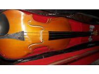 Violin gueren punkt german