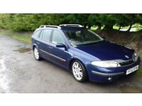 SPARES OR REPAIR 2003 RENAULT LAGUNA 2.2 DCI 6 SPEED MANUAL