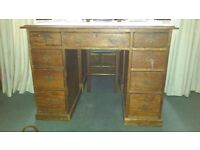 Antique Wooden Desk For Sale