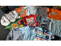 Bundle with 18 pieces boys clothes, 2-3 years