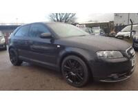 AUDI A3 2.0 TDI QUATTRO S-LINE 4WD 6 SPEED 3 DOOR 2008 / FULL LEATHER / 12 MONTHS MOT / HPI CLEAR