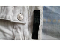 White Women CIGARETTE NEXT Jeans , SIZE Eur 40 (tried time - too big)))