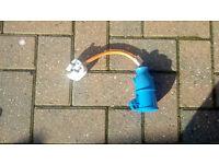 Mains cable adaptor - UK plug