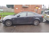 Lexus IS220D 57 plate, fully loaded in graphite grey!