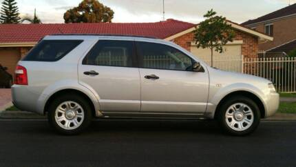 2008 Ford Territory Wagon Quakers Hill Blacktown Area Preview