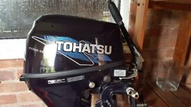 Tohatsu 8hp Outboard Motor Engine 2012 Model