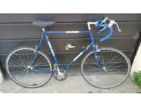 Raleigh Stratos Single Speed Fixie Project Road Bicycle