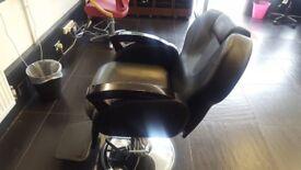 Hydraulic Barber Chair Classic/Reclining Salon Hairdressing 360 Degree Swivel