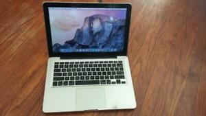 Used 2011 Macbook Pro 13 with Intel Core i5 Processor, Webcam, DVD and Wireless