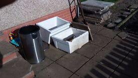 belfast sink plant pots planters large