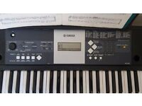 Yamaha Keyboard for Beginners+Stand+Chair
