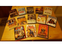 13 movie dvds suitable for family viewing. £4 for lot