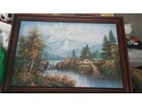 Woodland Oil Painting