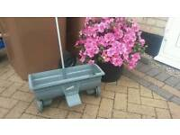 Lawn spreader fisons