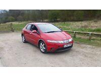 Honda Civic 2.2 DIESEL 5 door hatchback - excellent condition, long mot