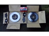 VW golf mk4 gti, tdi discs and pads 288mm 3 month old