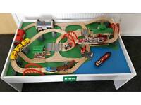 Brio Deluxe Railway Set 33052. Only 4 months old. Table for sale separately