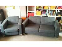 Modern sofa + armchair / FREE DELIVERY