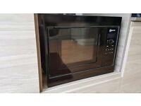 Microwave NEFF 50cm Black built in Model H53W50, brand new unused, ex showroom display
