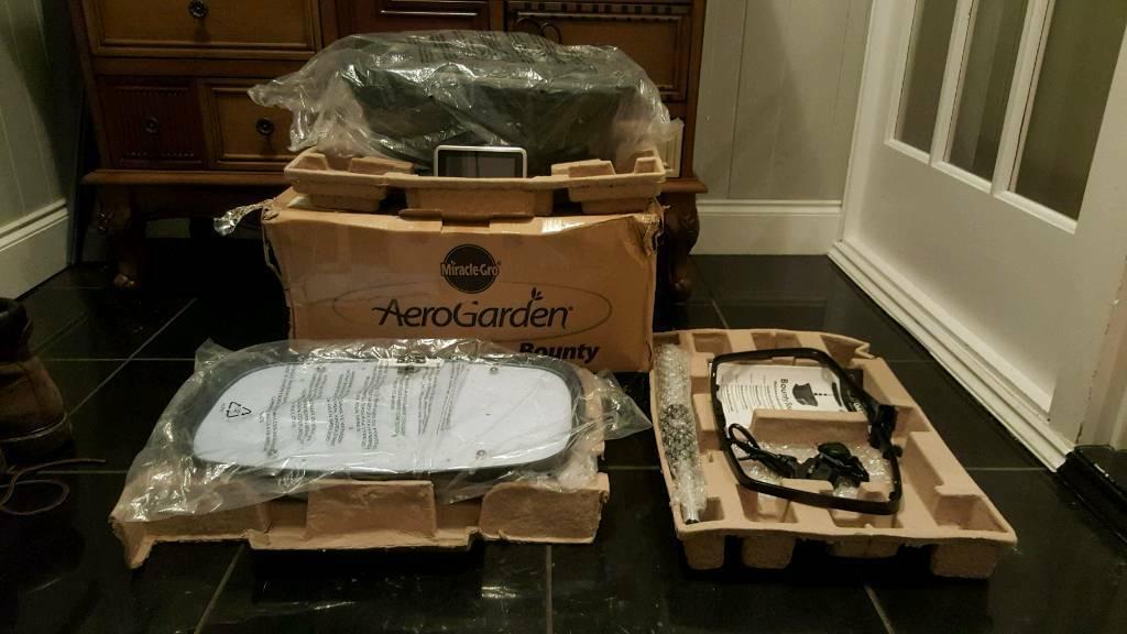 Miracle-gro aerogarden Bounty 9 pod new unused hydroponic system | in  Luton, Bedfordshire | Gumtree