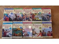 Set of 10 Famous Five Books