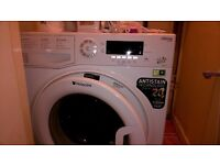 White Hotpoint 8kg washing machine - in excellent condition - A+++