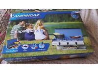 Camping Chef - Camping Stove & Grill - Brand New, Never Used with Gas Bottle