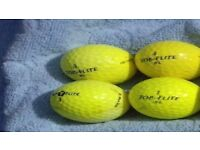 Used yellow golf balls for sale
