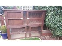 Rabbit Hutch with lower run