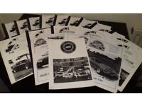 DATSUN 'Z'CLUB MAGAZINE..IN GOOD CONDITION 26 COPIES