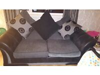 Large 3 and 2 seater DFS sofa.