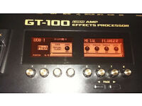 Boss GT-100 Guitar Multi FX Pedal