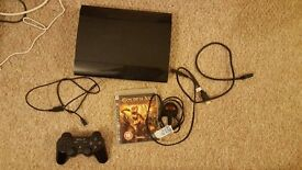 PS3 super slim 1tb console