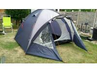 HALFORDS 4 PERSON DOME TENT