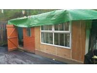 Birdroom shed aviary playroom 20ft by 7 ft OFFERS