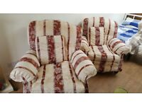 2 very comfortable and clean armchairs, very little use.
