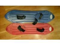 Plastic Snowboards